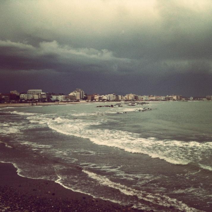 Il mare di #Cattolica in inverno