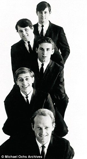 The Beach Boys in 1963: (from top) Brian, Carl and Dennis Wilson, David Marks…