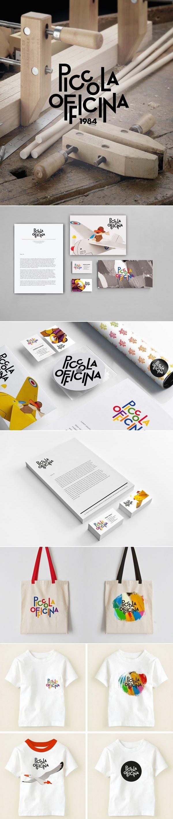 Piccola Officina – Brand Identity.