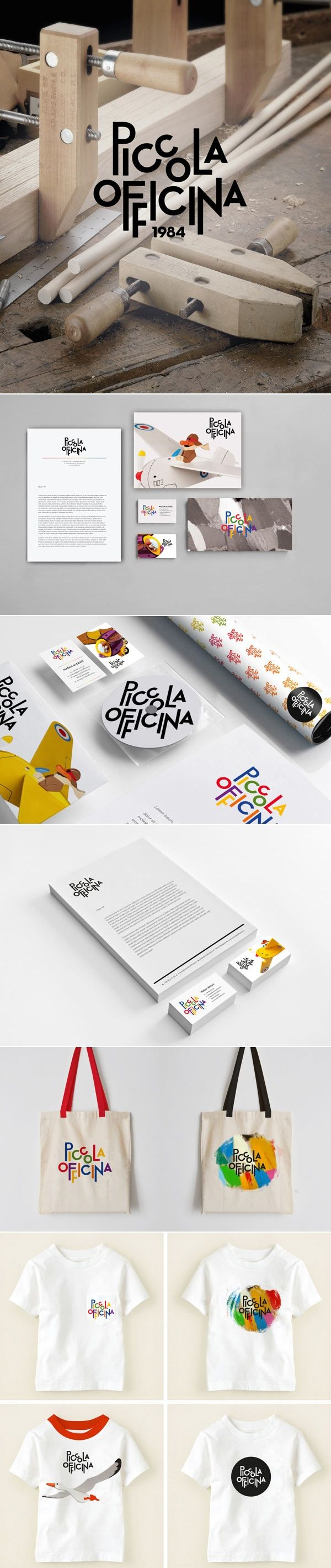 Piccola Officina #identity #packaging #branding PD