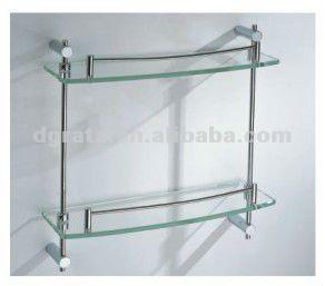Las 25 mejores ideas sobre estantes de vidrio en pinterest for Estantes vidrio bano