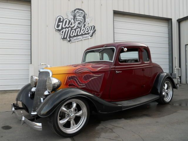 1934 ford 5 window coupe kick ass hot rod w irs offered by for Garage auto b2