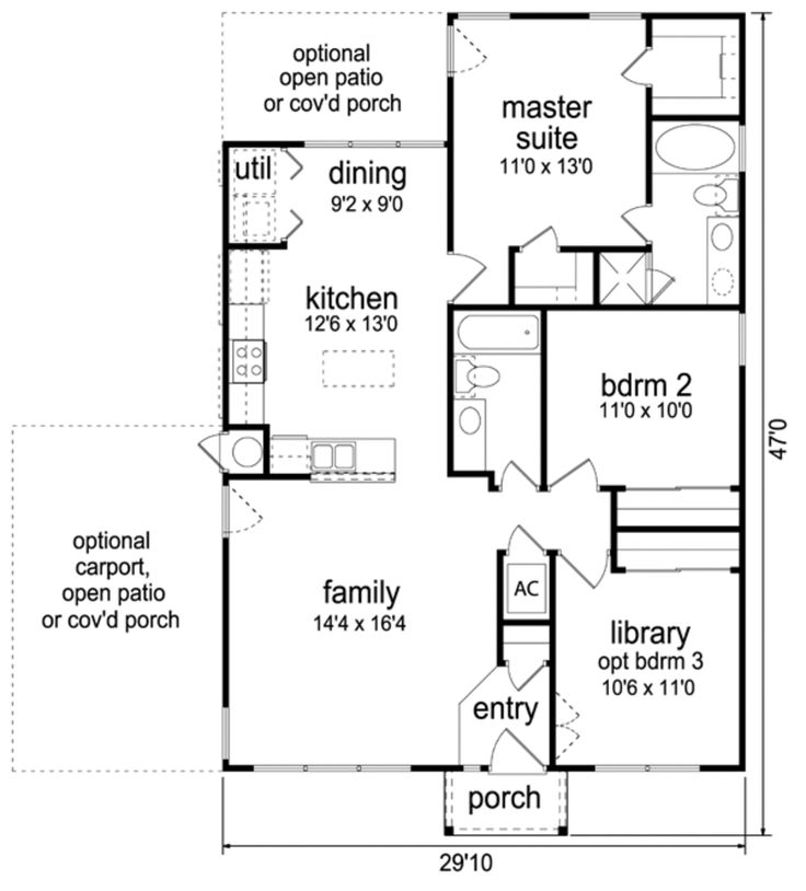 17 Best images about house plans on Pinterest Small houses