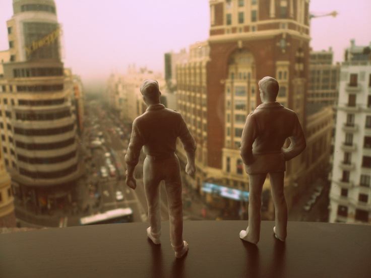 A view.. from the top #madrid