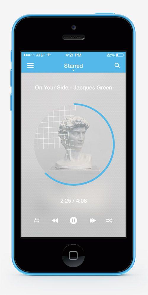 Mobile Apps with Circular Vibe Menus - 6 #circularvibe #mobileuidesign #uidesign #UIUX