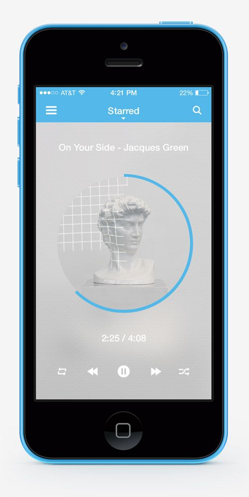 30 Fresh Examples of Mobile Apps with Circular Vibe - 6