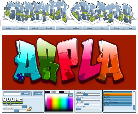 The Graffiti Creator | CRÉER - DESSINER EN LIGNE | Scoop.it