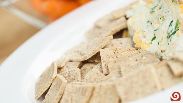 Gluten Free Crackers Recipe | Blendtec ----> http://www.blendtec.com/recipes/gluten_free_crackers