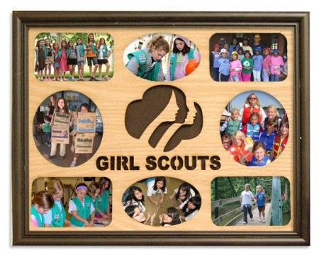 Girl Scout frame if I ever have a daughter she will be in girl scouts. :)