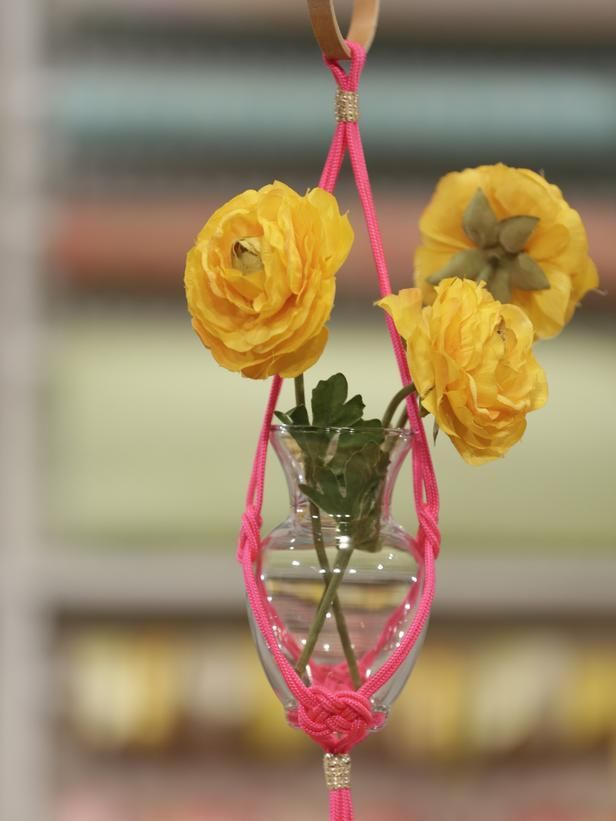 DIY gift ideas for Mother's Day--> http://www.hgtv.com/holidays-and-entertaining/diy-mothers-day-gifts-mom-will-love/pictures/index.html?soc=pinterest: Diy Mothers, Mothers Day Gifts, Gifts Ideas, Macrame Planters, Love Pictures, Crafty Holidays, Diy Gifts, Hanging Planters, Design Blog