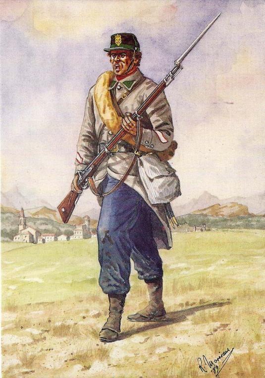 Garibaldini - Cacciatori delle Alpi, Sottufficiale, 1949
