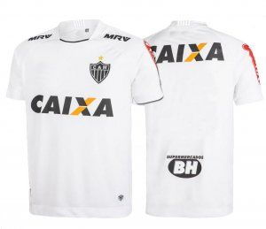 Club Minero Athletic 17-18 Season Away White CBSA Shirt Jersey [J690]