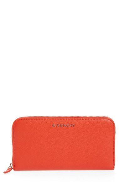 Pandora Leather Zip Around Wallet