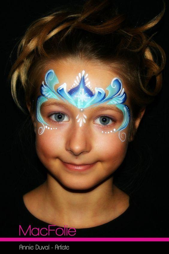 Épinglé par Taile sur princesse   Modèles de maquillage, Maquillage reine des neiges et ...