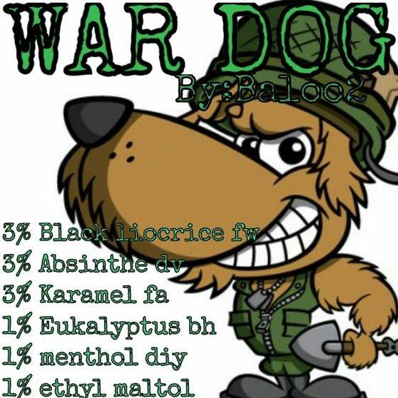 <b>War dog</b><br /><b>Baloo2</b> har tilladt at vi må bruge hans opskrifter.