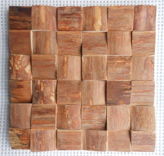 Decorative Wood Panels For Walls Unique Wooden Mosaic Pattern Cladding
