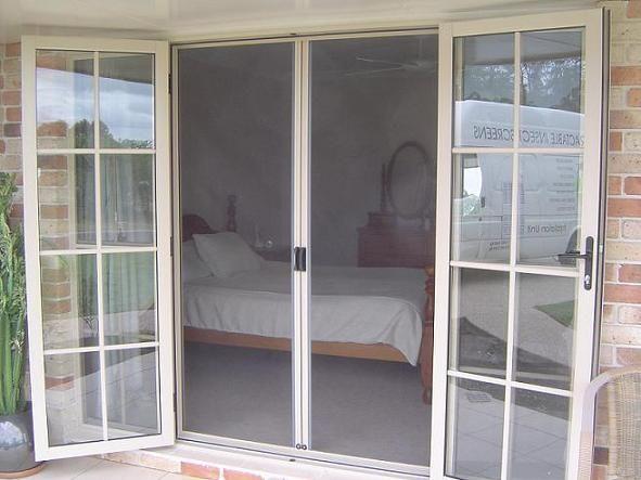 29 best images about doors on pinterest sliding doors for Double screen doors for french doors