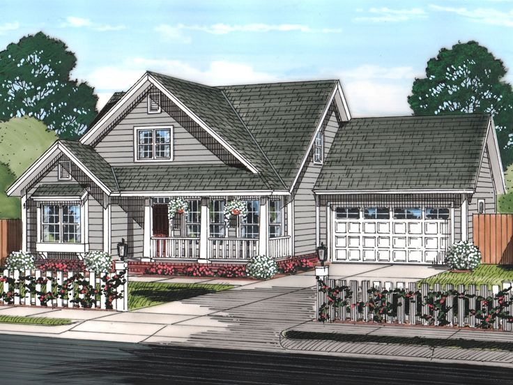 Two-Story House Plan, 059H-0191