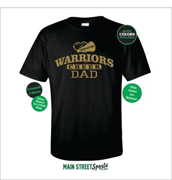 CHEER DAD SHIRT. Cheer Shirt. Cheer Team. by MainStreetSports
