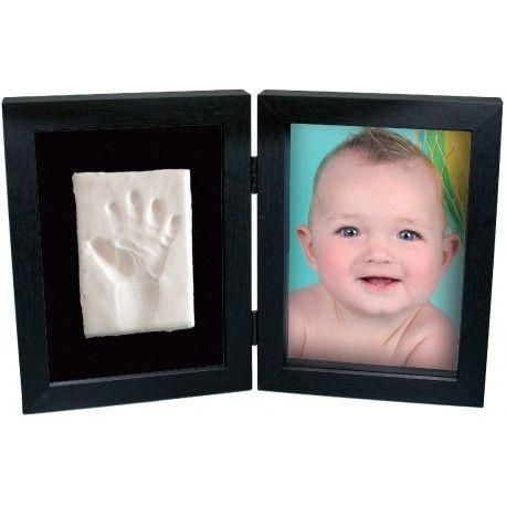 marco de fotos con huella del bebé en corazoncanalla.com
