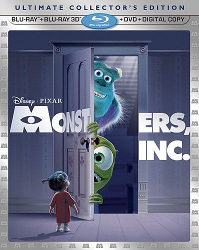 Monsters, Inc. (Five-Disc Ultimate Collector's Edition) (Blu-ray 3D / Blu-ray / DVD Combo + Digital Copy) Disney X