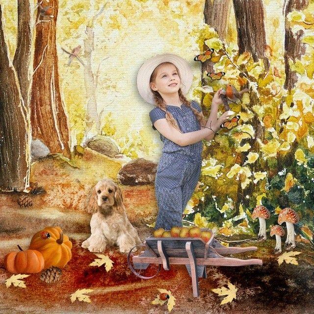 """""""Misty Autumn"""" by Snickerdoodle Designs & Fancy Bird Designs"""