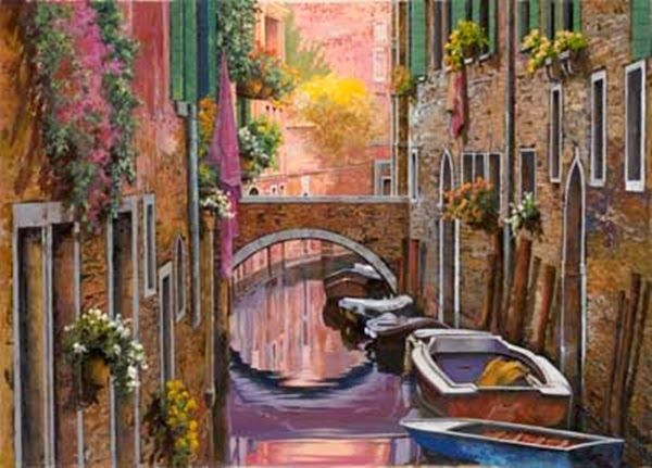 Guido Borelli: Venezia e la Mimosa