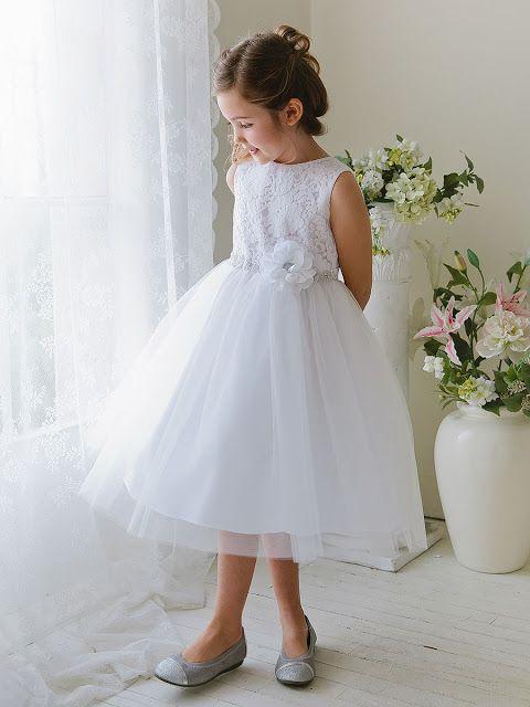 vestidos de primera comunion niña sencillos