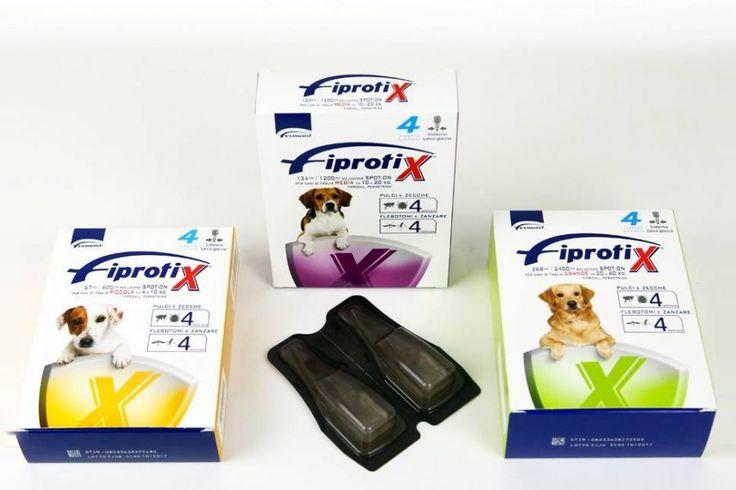 Per il tuo cane e gatto Fiprotix il farmaco generico contro pulci, zecche, flebotomi e zanzare o Frontline Spot on gatto...a soli 13,40 €