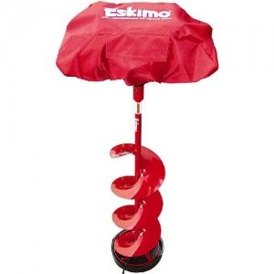 Protect your Eskimo ice auger power head with a 69811 Power head Cover. It is made of the same durable material as Eskimo ice shelters so it will protect the power head from rough conditions.