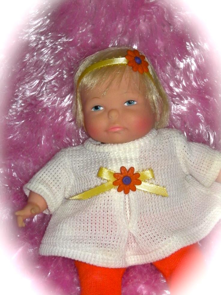 Vintage 60 S Ideal Newborn Thumbelina Doll Baby Dolls