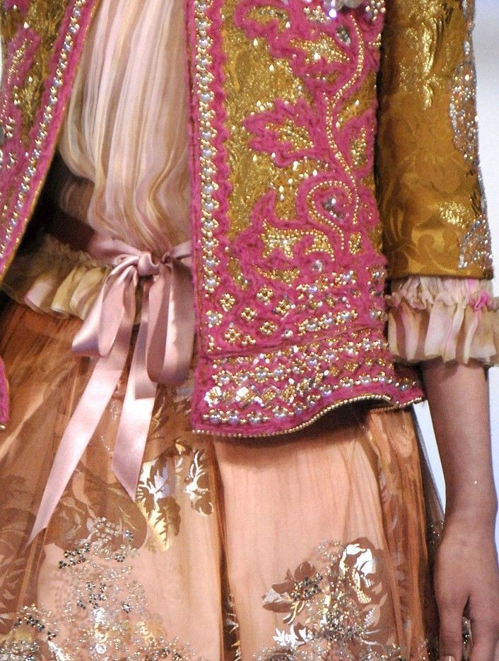 Christian Lacroix Couture Fall 2006.