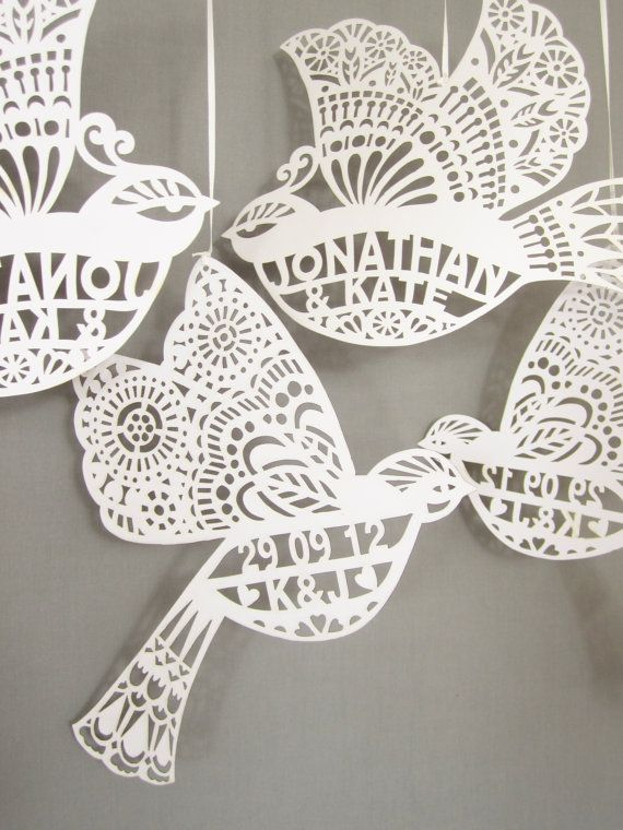 Gorgeous laser cut stationery from Comeuppance | onefabday.com