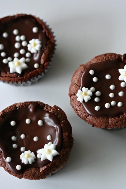 Flourless Chocolate Cupcakes | Recipe