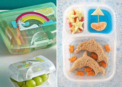 Praktische Geschenke für die Schultüte: Wie wäre es denn mit einer Brotdose und leckerem Inhalt?