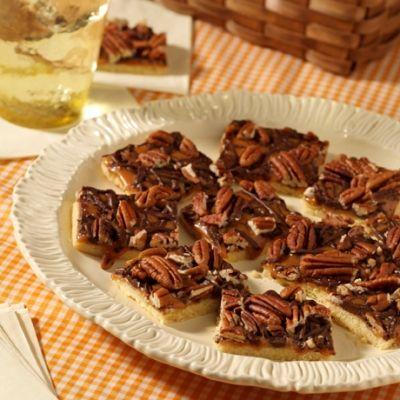 Caramel Pecan Shortbread Bars Shortbread, caramel AND pecans?!!! What ...