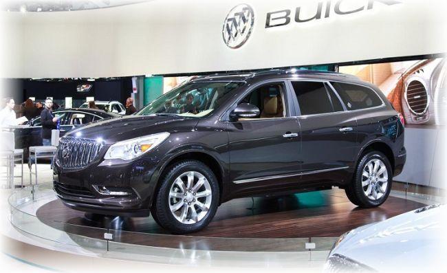 2015 Buick Enclave #Buick #Rvinyl --------------------------------------------------------------------- http://www.rvinyl.com/Buick-Accessories.html