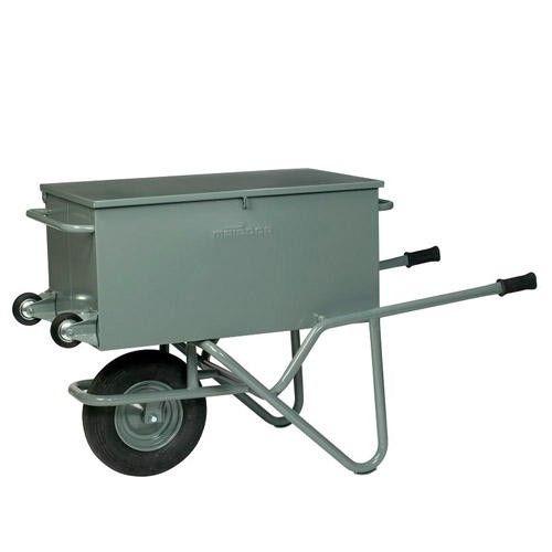 GTARDO.DE:  Werkzeug-Transportkarre, Maße 630x1530 mm, Ladefläche 900x500x430 mm, Luft 410,00 €