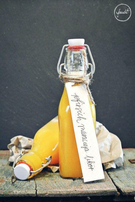 Pfirsich Maracuja Likör - Sommersonne in der Flasche | Freude²