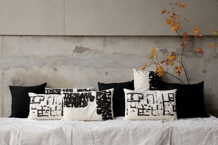 Cushions by: Ylva Skarp Photo by: Susanne Kings