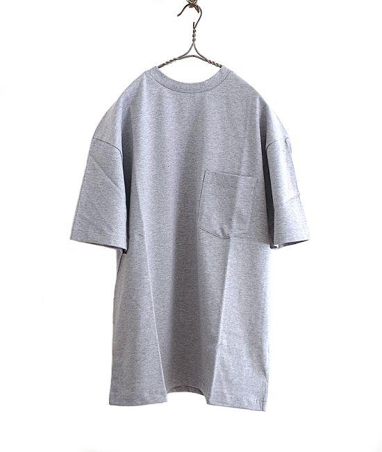 ES:S ラウンドネックビッグTシャツ(MIX GREY) - FLORAISON
