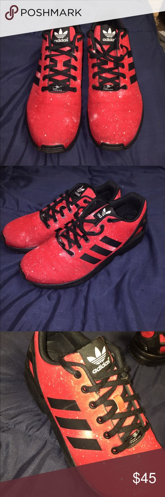 Adidas flux mars edition Good condition. Price describes it well. adidas Shoes Athletic Shoes
