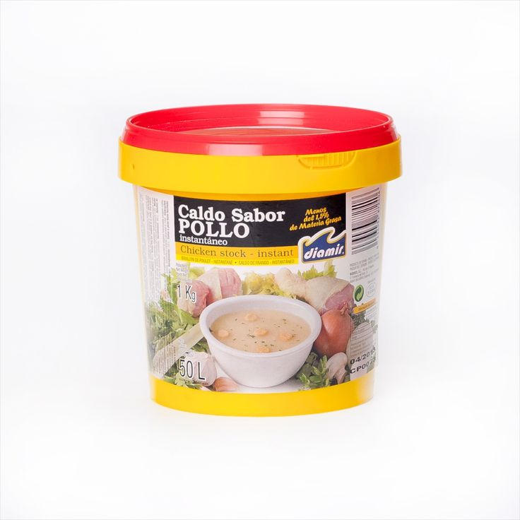A concentrated chicken stock developed especially for paella.  This 1 kg tub makes approximately 50 litres of stock, so this is perfect for the busy kitchen or caterer.
