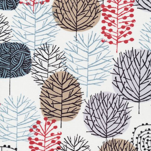 Winter Woodland :: Bark & Branch by Eloise Renouf for Cloud9 Fabrics for Cloud9 Fabrics
