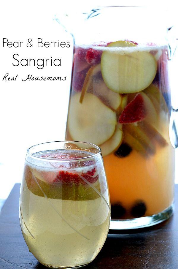 Pear and Berries Sangria