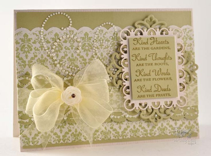 beautiful!!!!: Amazing Paper, Wedding Cards, Kind Heart, Paper Grace, Cards Ideas, Beautiful Cards, Crafts Cards, Paper Punch, Becca Feeken