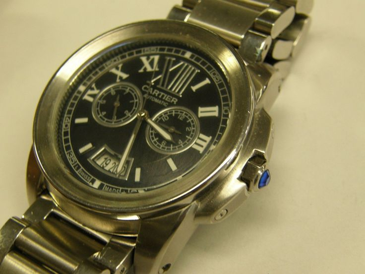 CARTIER Calibre Auotmatic Watch Steel/25 Jewels/225014PX/3299