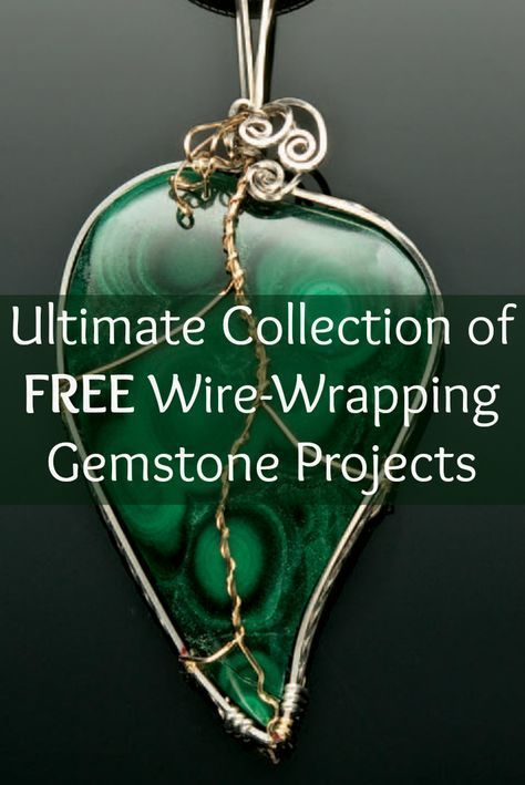 If You Like Wire Wrapping, Then Youu0027ll LOVE These 3 FREE Gemstone Wrapping