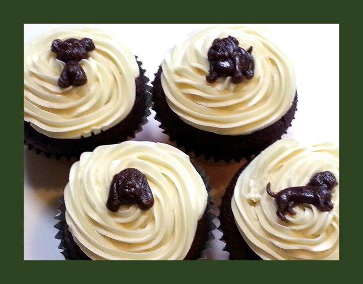 Poochy pupcakes - organic grain & dairy free. www.waggydog.com.au