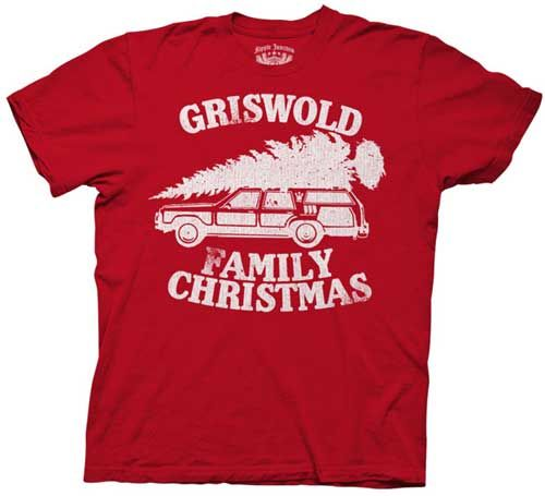 Griswold Family Christmas Vacation T-Shirt!!! I think I need one for every member of my family!